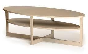 Ikea Salontafel Hout.Ikea Vejmon Blankhouten Ovalen Salontafel 48x66x140 Cm 30